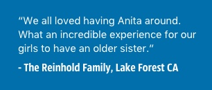 California Host Family Testimonial